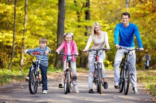 Comparte con tus hijos una vida activa y saludable